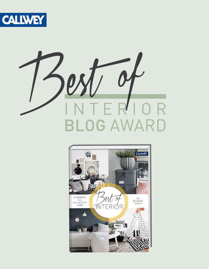 best of interior blog award wohnideen aus dem wahren leben sistermag. Black Bedroom Furniture Sets. Home Design Ideas