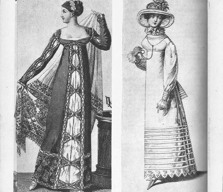 Kaiserlich schön – Empire Kleider