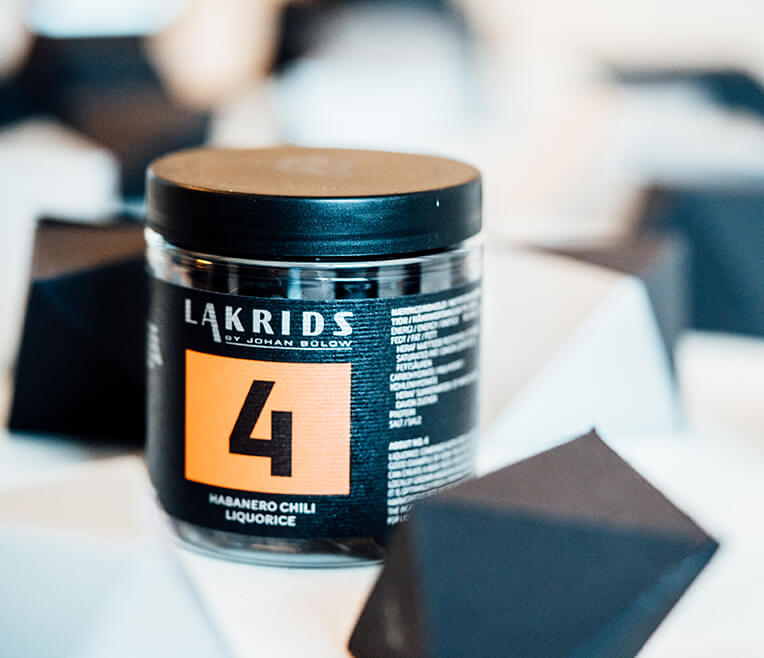 Familiar in a new style: Lakrids