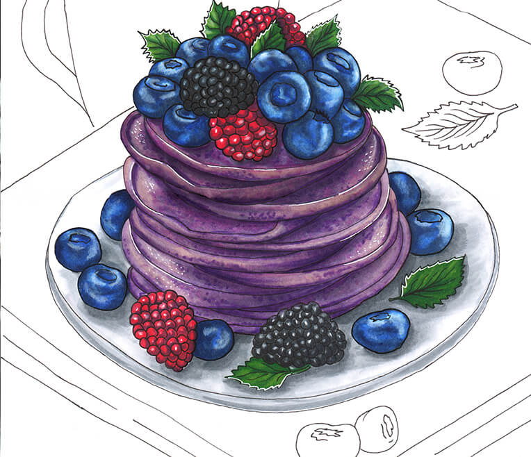 Bleeding Plants and Purple Pancakes – 9 Crazy Food Trends