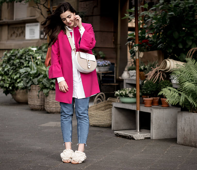 Styling- and Shoeguide – Jeans und Flamingo