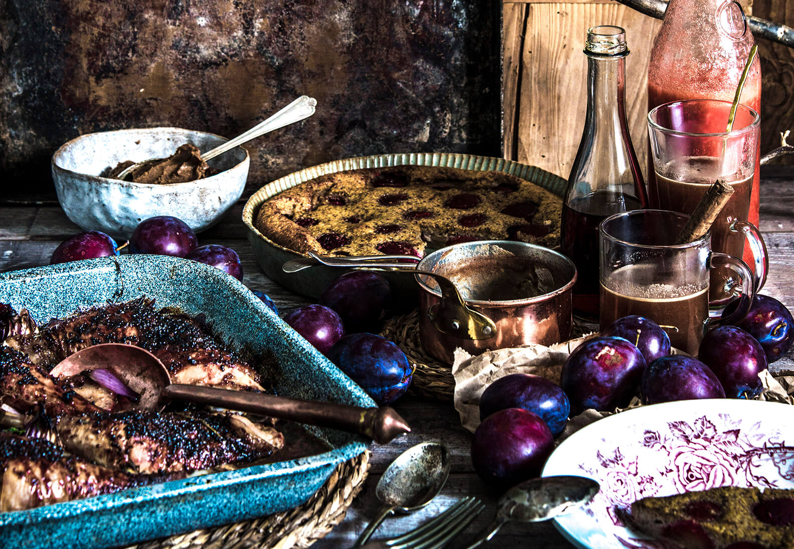 Pflaumen Rezepte für den Herbst