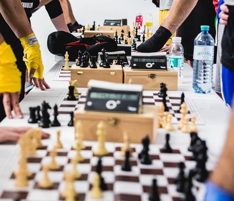 Trend, Trendiger, Schach-Boxen!