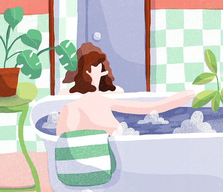 Fernab vom Plantschen – das Stadtbad als Badezimmer