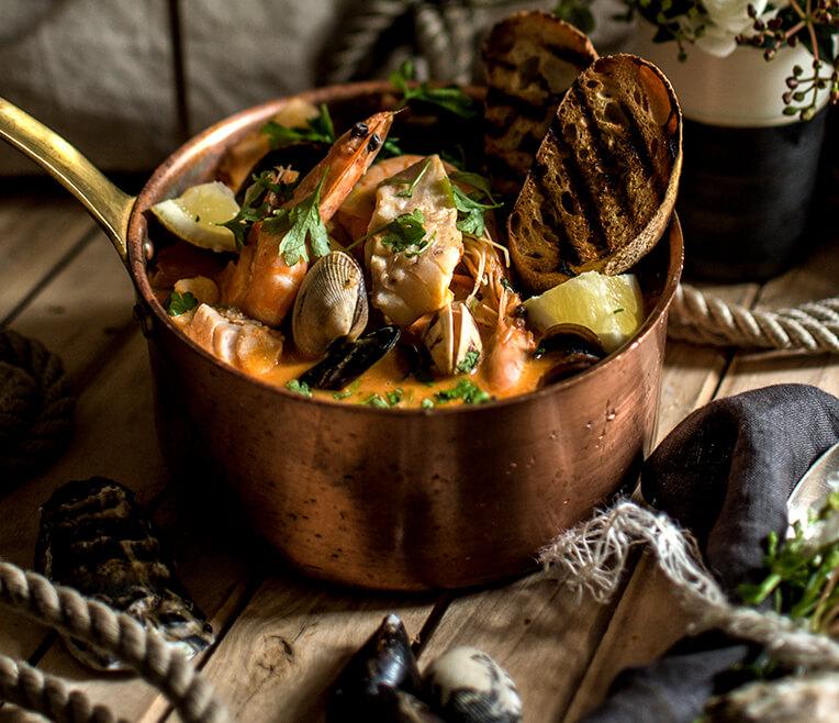 Gaumenschmaus Seafood – Zutaten aus dem Meer