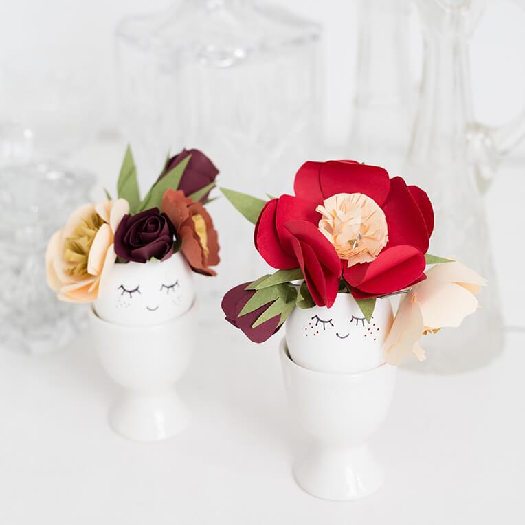 DIY Papier Blumen