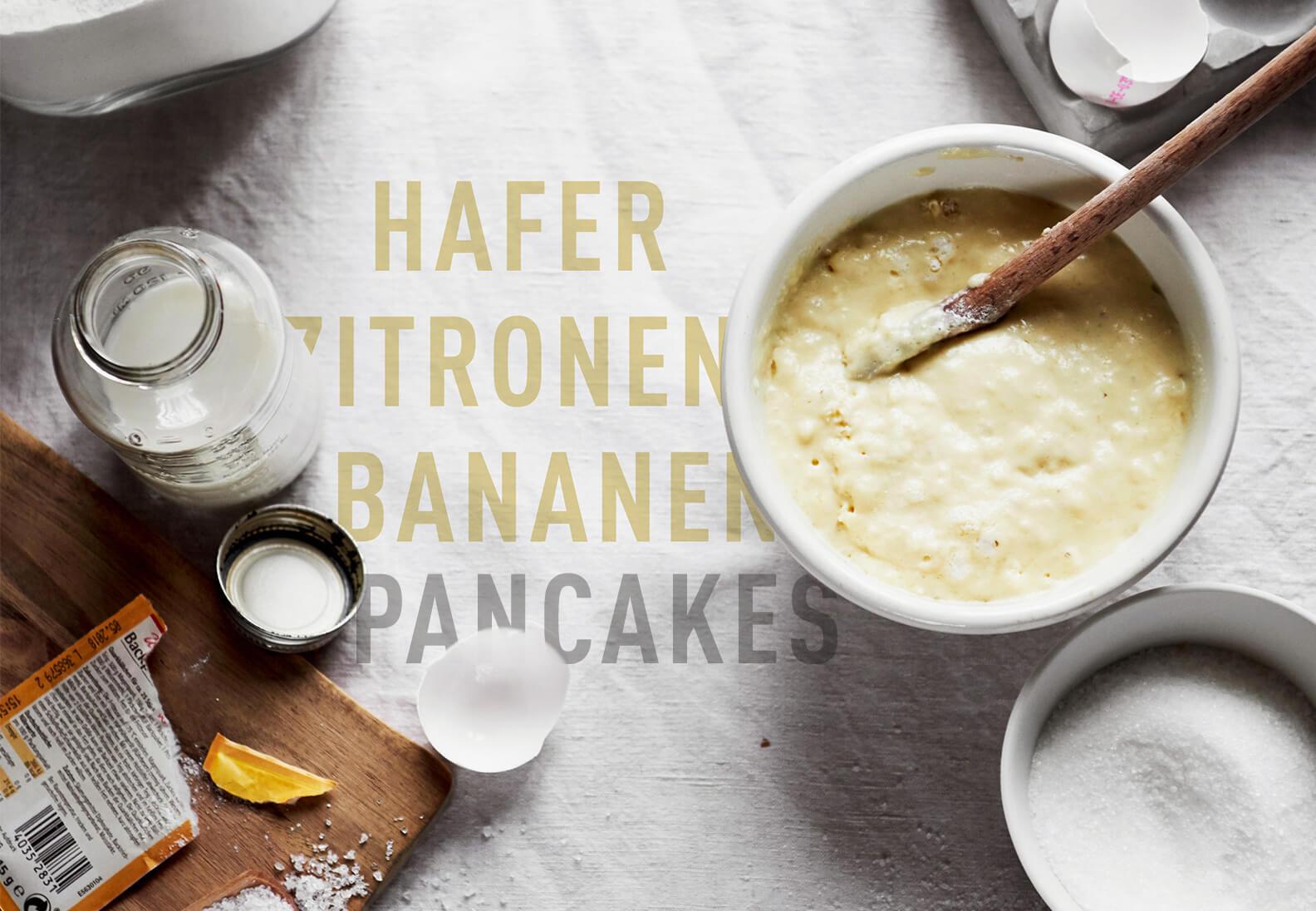 World Pancake Day 2017 – Lemon Oat Banana Pancakes
