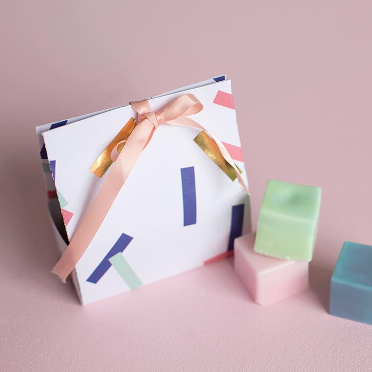 Seifenverpackung zum Selbermachen