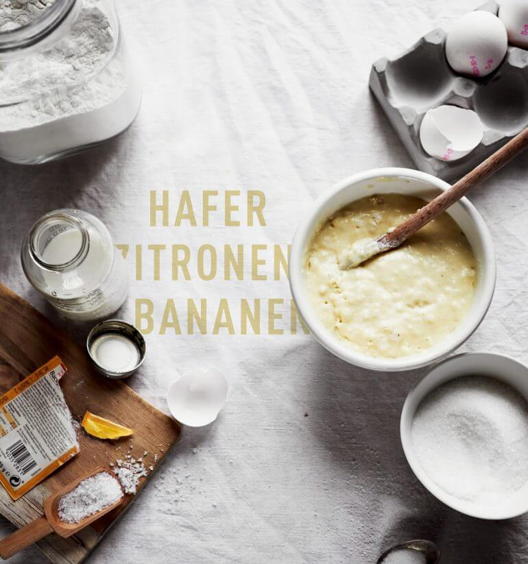World Pancake Day 2017 – Hafer Zitronen Bananen Pancakes