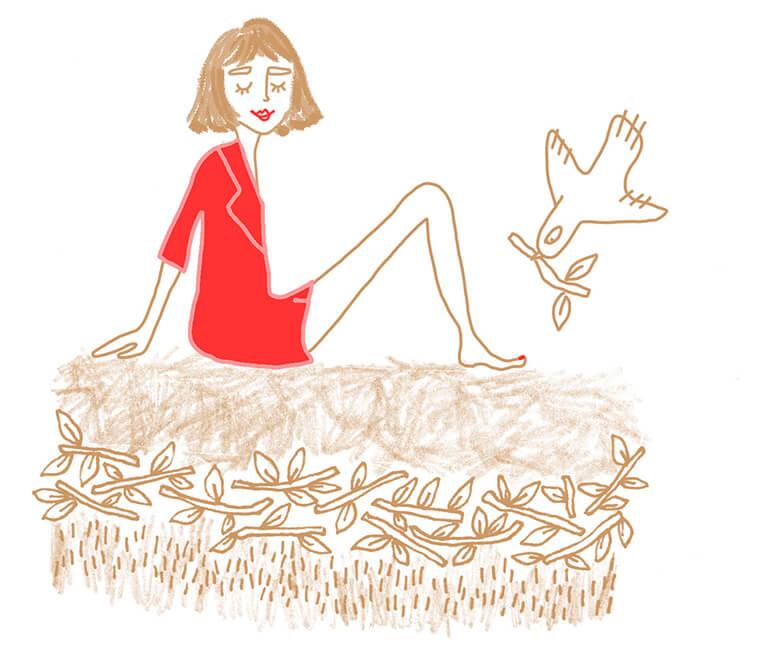 Gemütliches Schläfchen – die Matratze