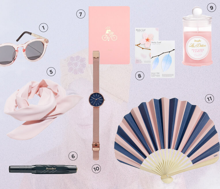 Wishlist: Cotton Candy and Prussian Blue