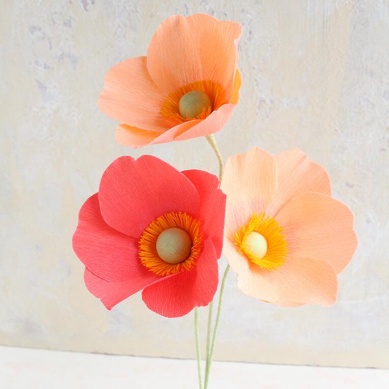 DIY »Papierblumen« von Anouk Böhmer