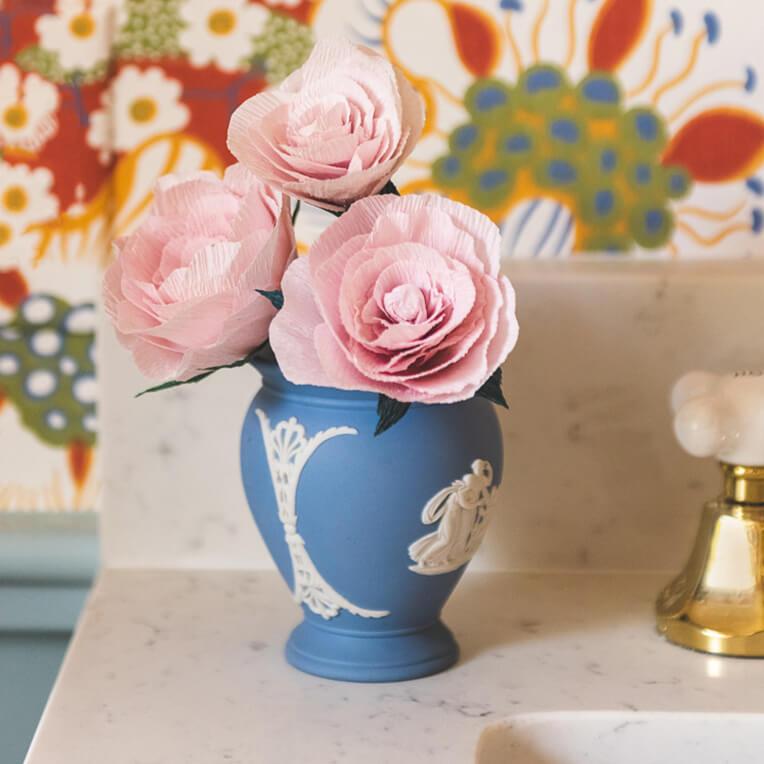 DIY »Papier Gartenrose« von The House That Lars Built