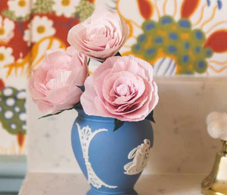 DIY Paper Garden Rose – The House That Lars Built