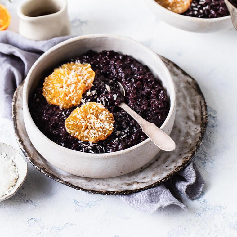 Recipe: »Black Rice Pudding«