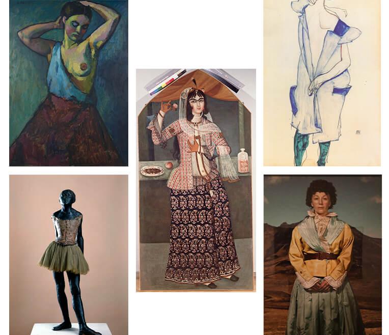 Röcke in der Kunst