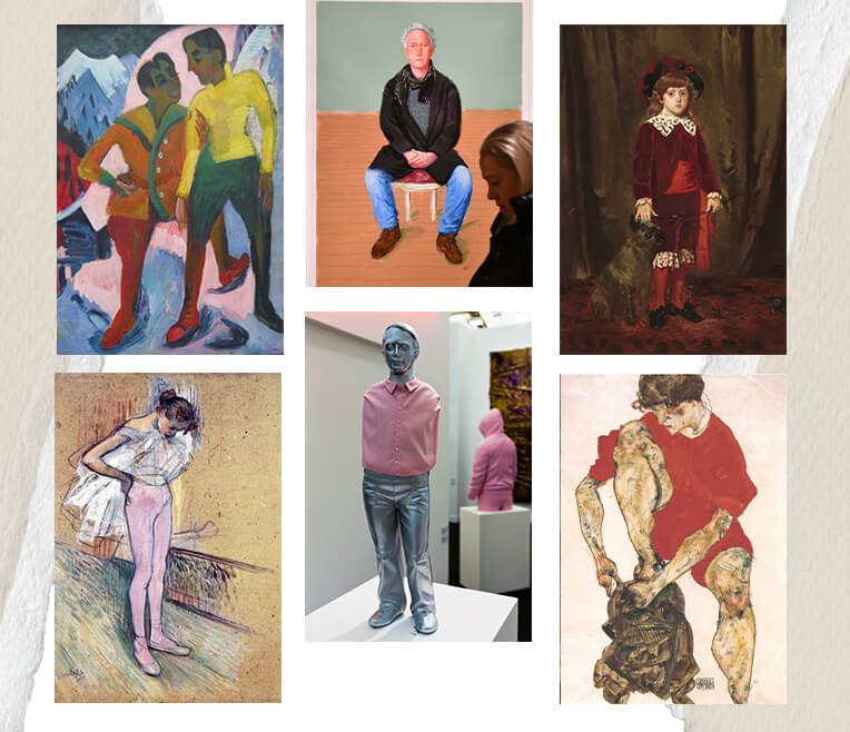 Trousers in art