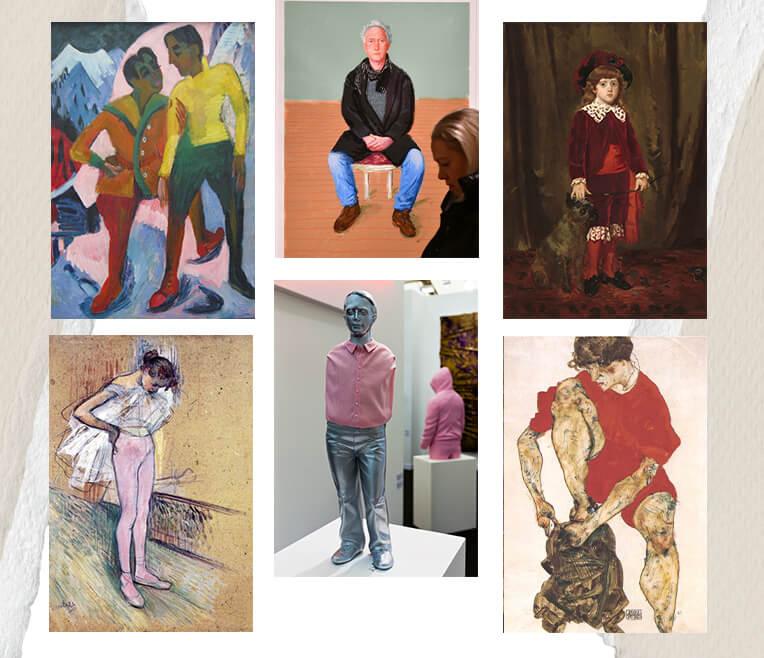 Hosen in der Kunst