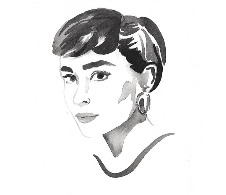 Die Stilikone Audrey Hepburn