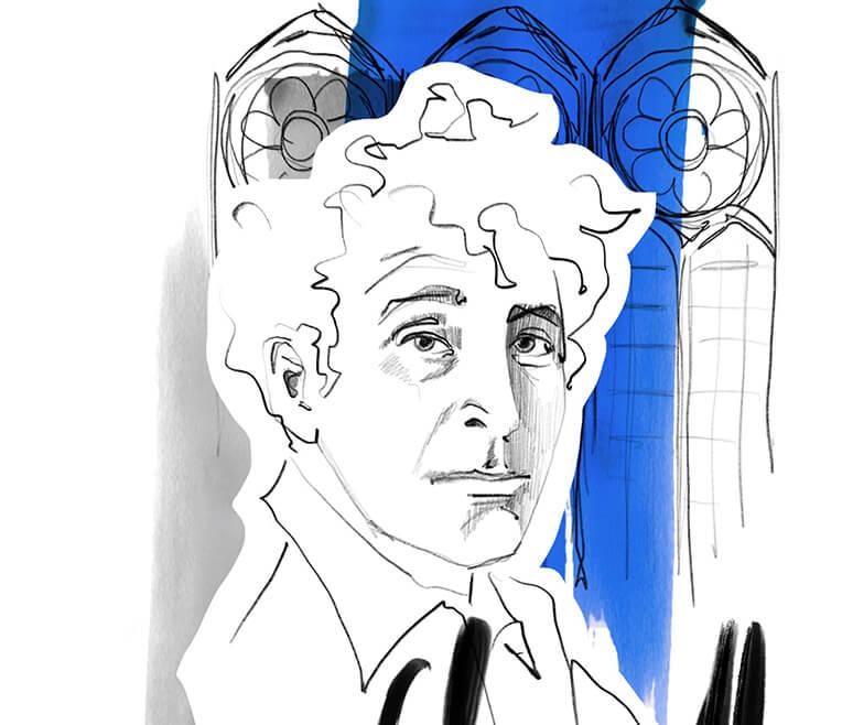 Drei Künstler und das Blau