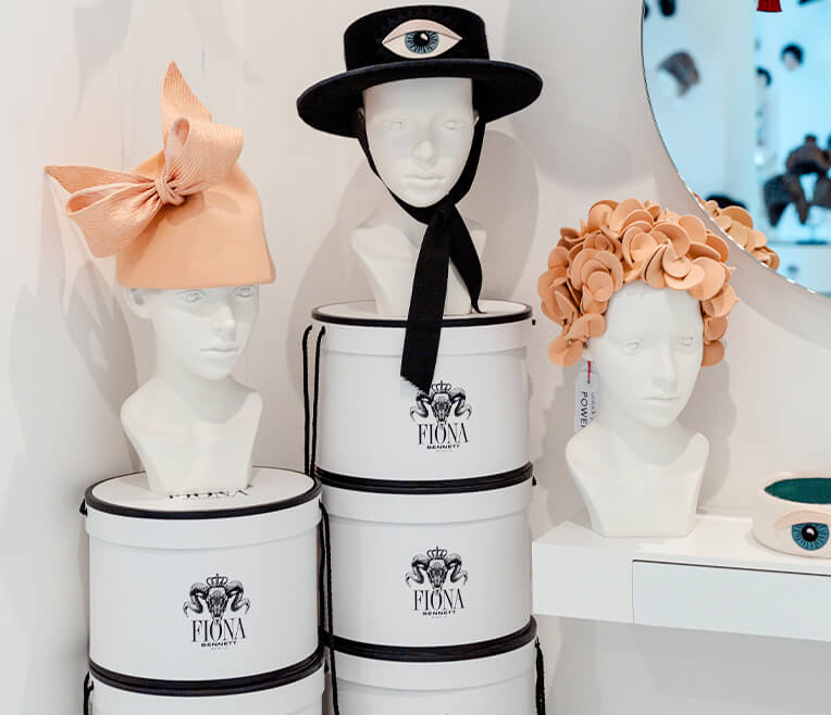 Interview with milliner Fiona Bennett