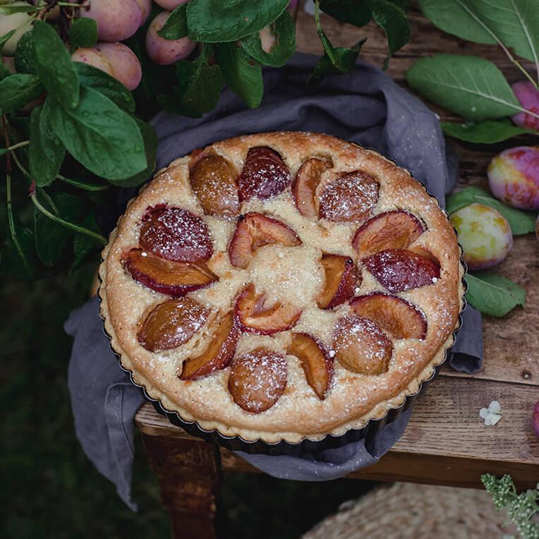 Recipe »Frangipane with plums«