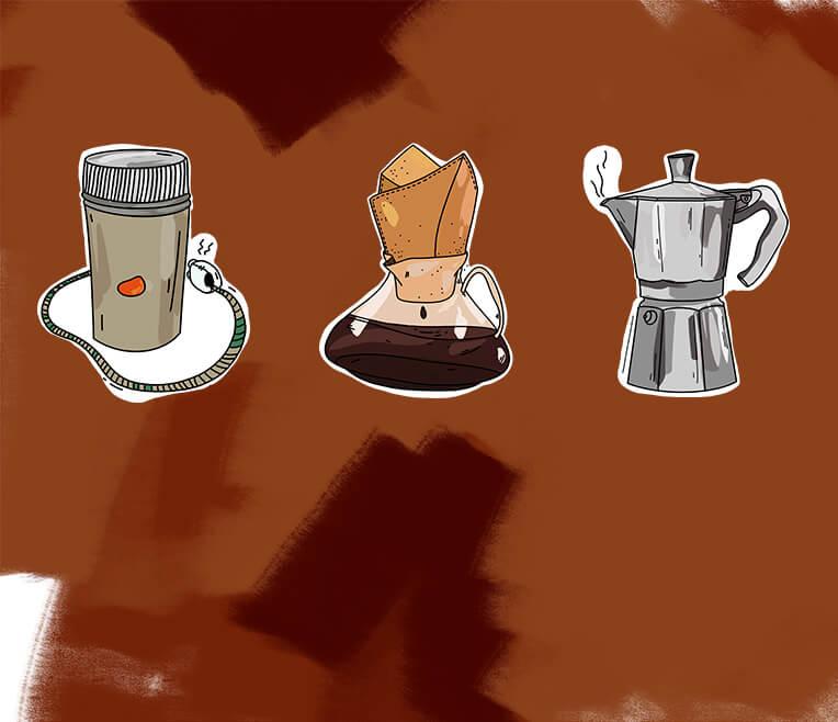 Eine kurze Geschichte der Kaffeemaschine