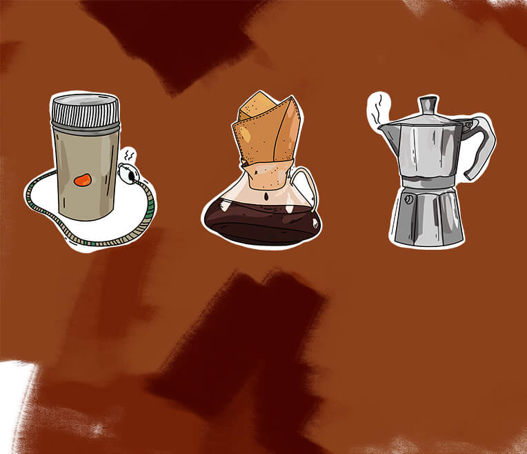 A short story of the coffeemaker