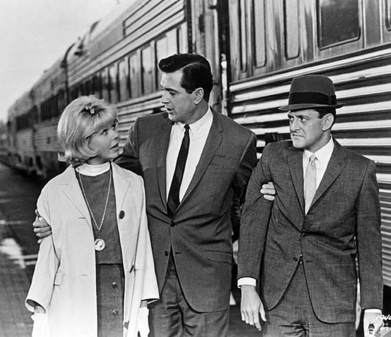 The »Good Wifey« – The Trio Doris Day, Rock Hudson, Tony Randall
