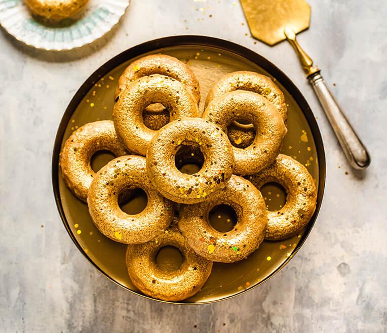 Food: Gold & Glitzer Rezeptideen