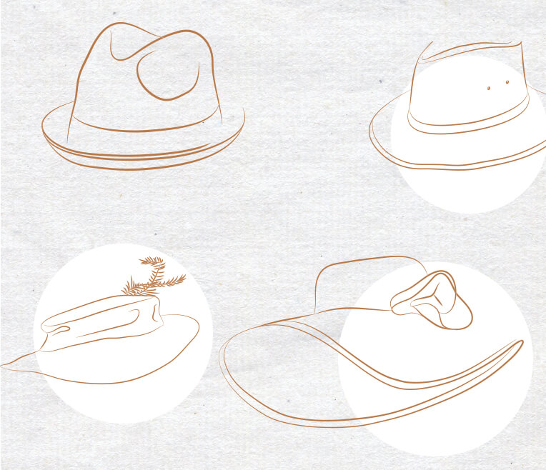 Freedom comes only to those who wear a hat – about different hat types
