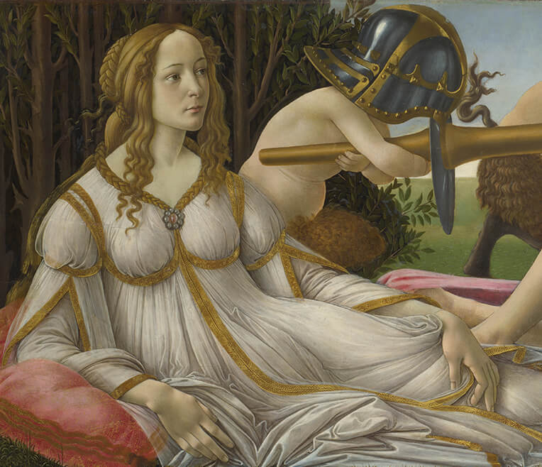 Sandro Botticelli's »Venus and Mars» re-interpreted in literature and film