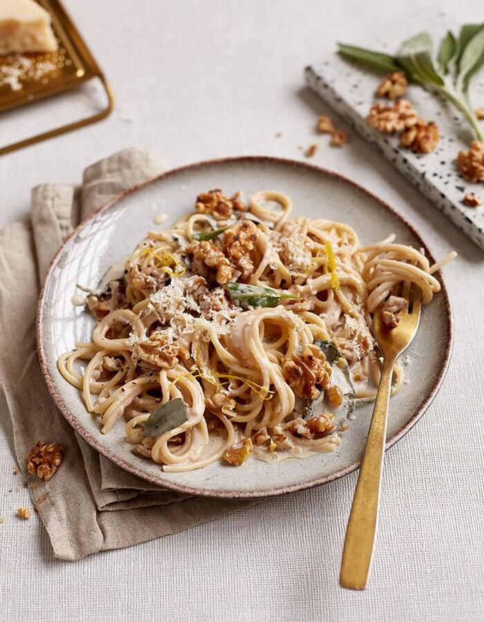 Recipe: »Walnut-Lemon-Pasta«