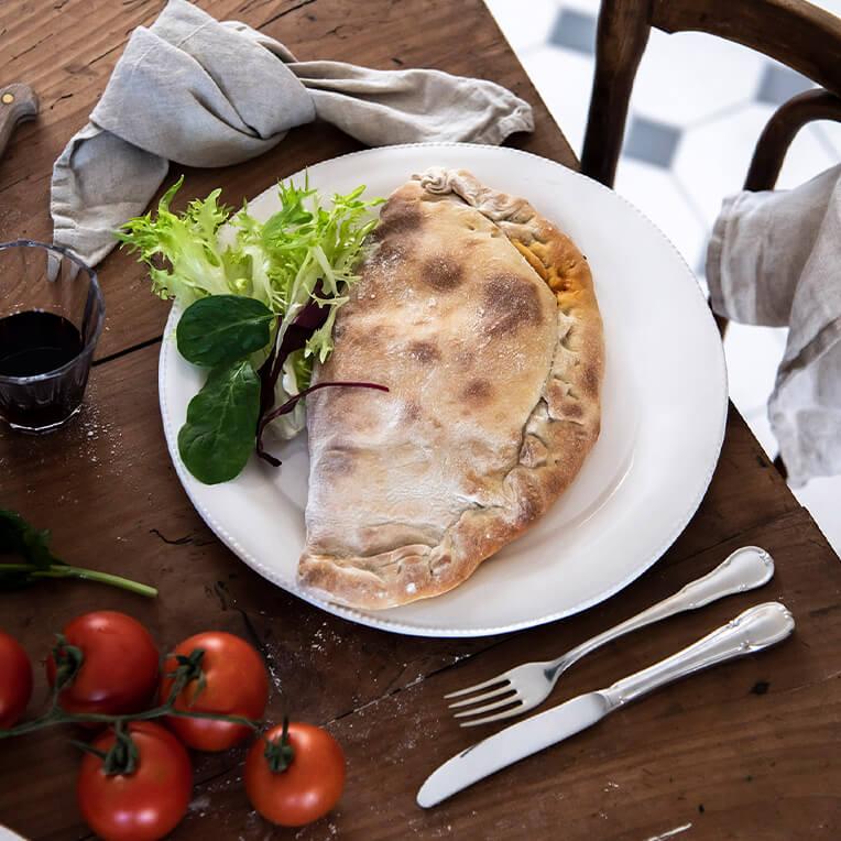 Rezept: »Pizza Taschen (Calzone)«