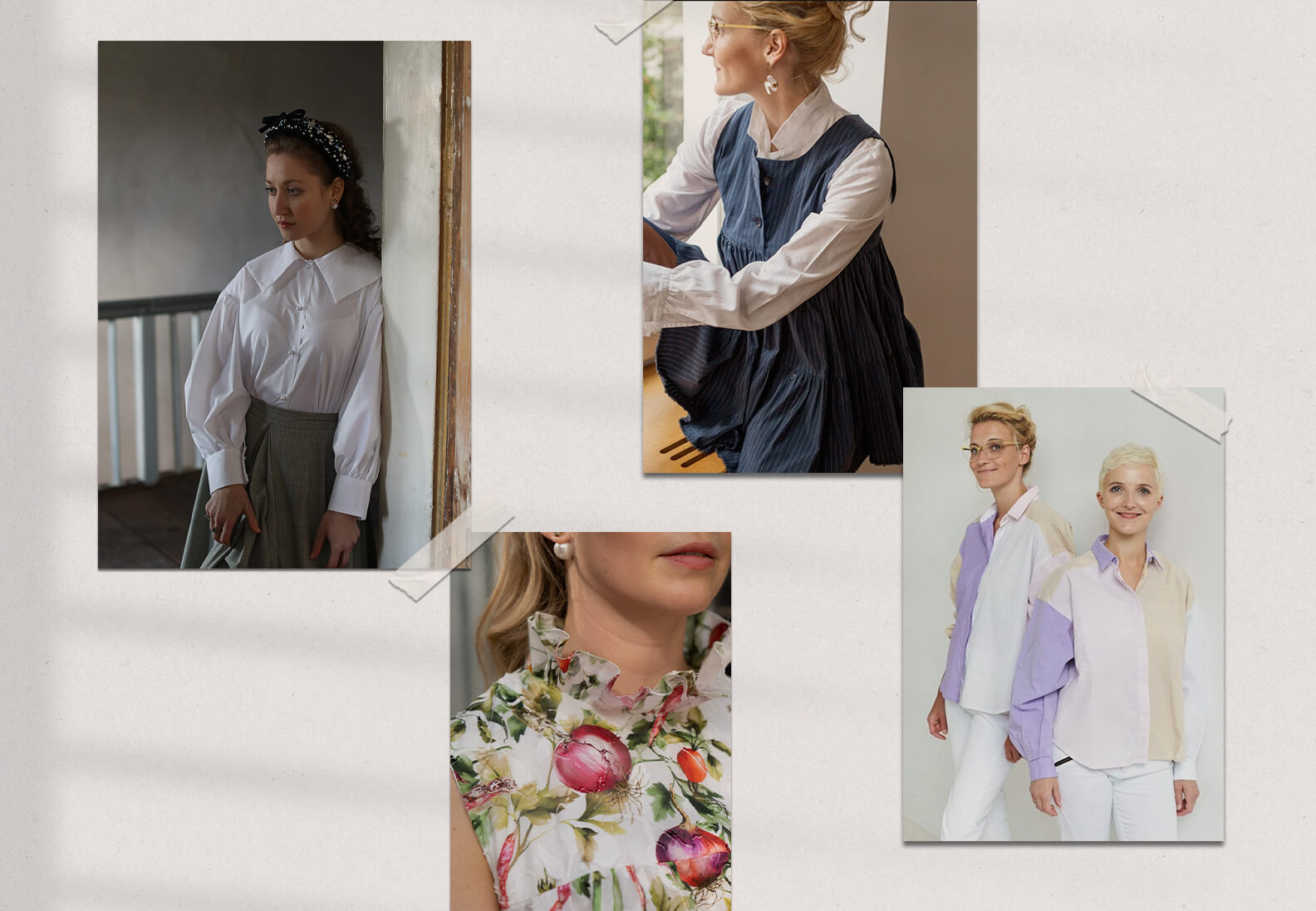 Die Bluse – Jetzt neu im sisterMAGpatterns Shop!