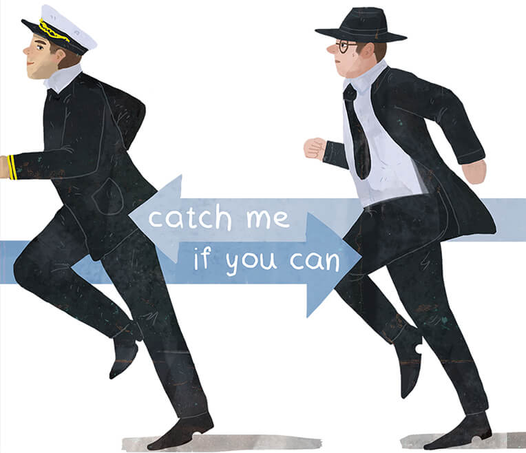 Introduction to movie »Catch me if you can«