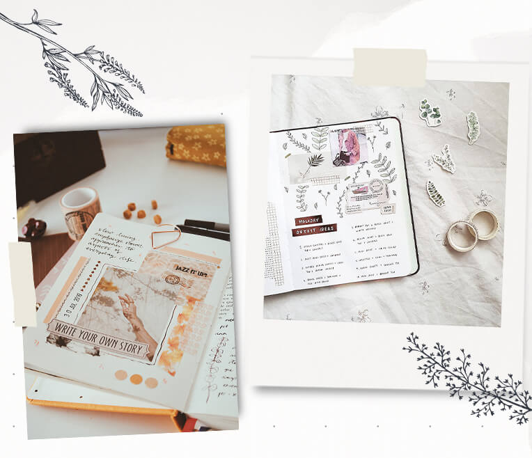 Pinterest Trend: Skizzenbücher