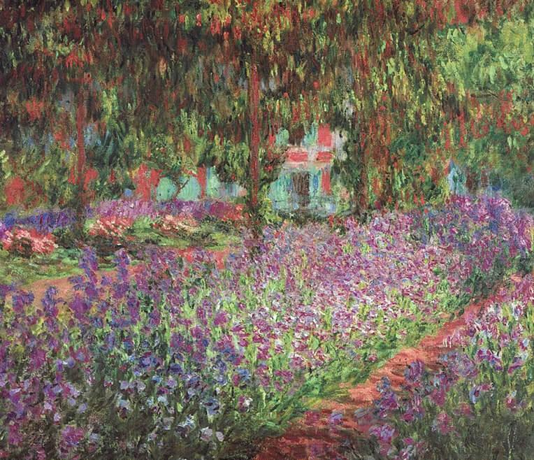 Unterwegs mit der Staffelei – Monet und seine Gärten