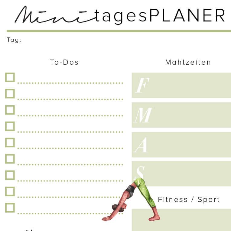 Alpro H.A.P.P.Y. Challenge Minitagesplaner zum Download