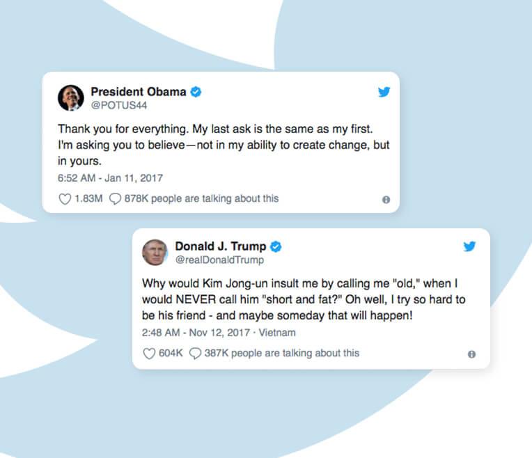 Ersetzt Twitter das Flüstern in der Politik?