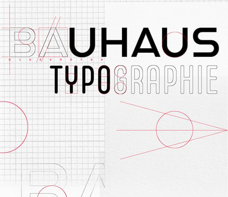 Typografie à la Bauhaus