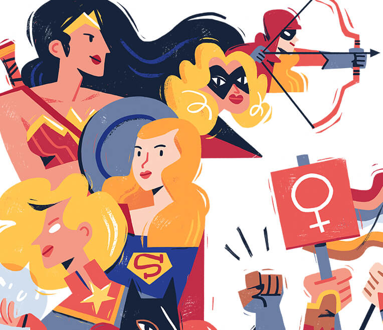 Wonder Woman & Co – Female Superheroes in Comics