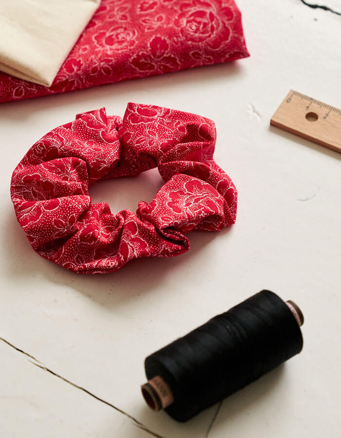 DIY »Einfaches Scrunchie«