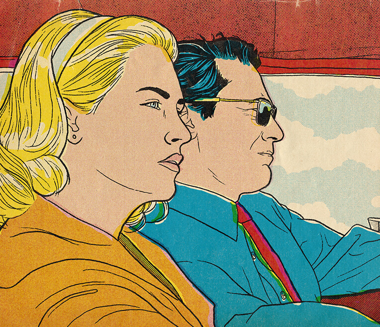Lichtenstein & Mad Men – The Drapers take a Drive