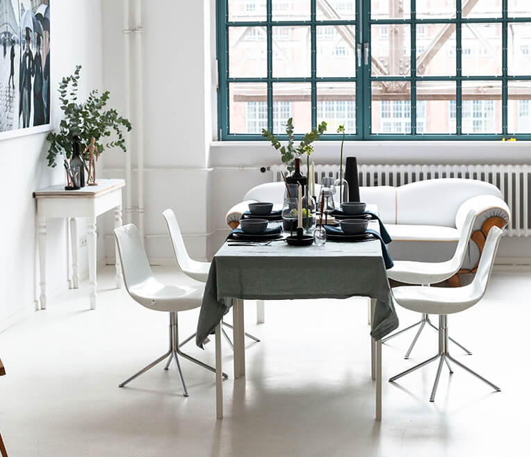 Table Decoration of the month January 2019 – inspired by Caillebotte & Paris