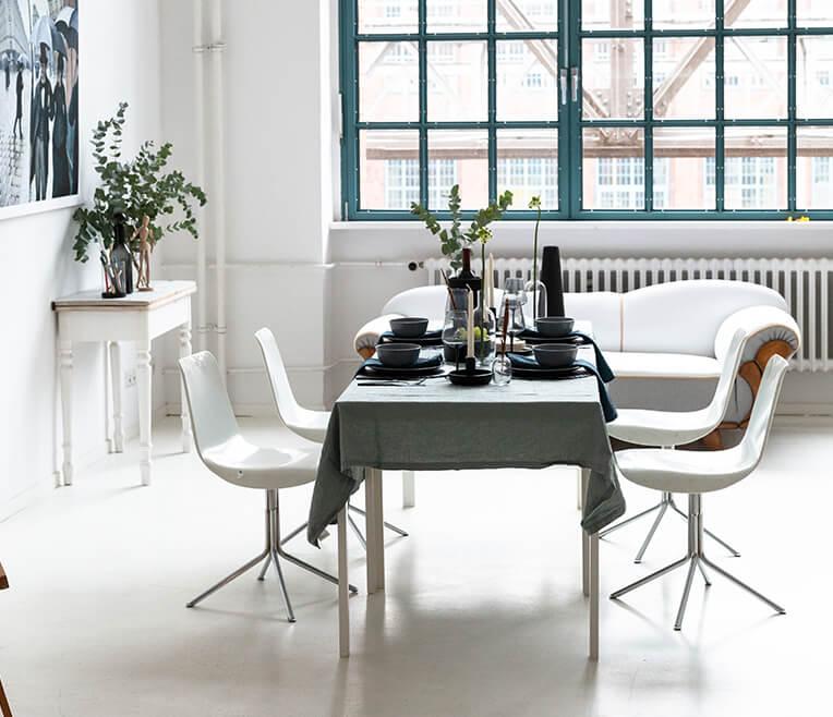 Tischdekoration des Monats Januar 2019 – Inspiriert von Caillebotte & Paris