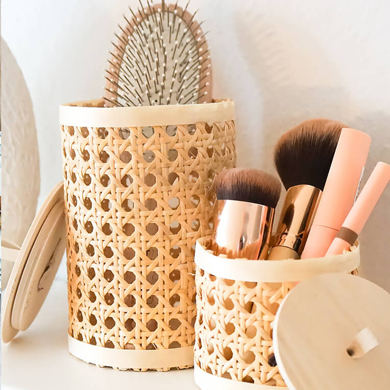 DIY »Basket with Rattan«