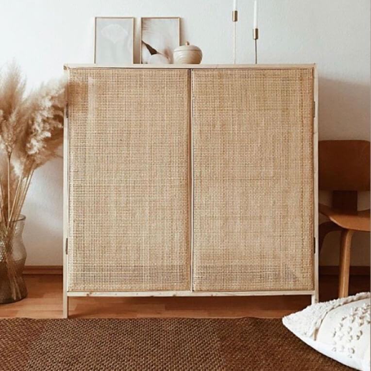 DIY »Rattan-Cupboard«