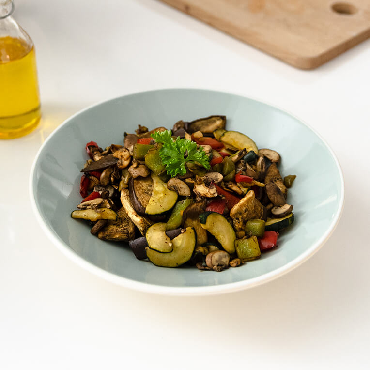 TEFAL Recipe Mediterranean Vegetables