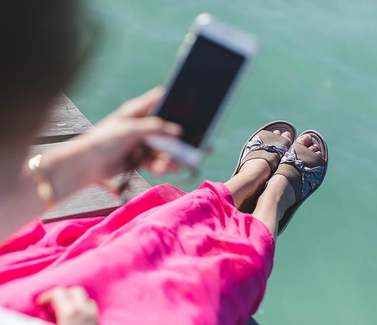 Ein Sommer mit den Schuhen von ara